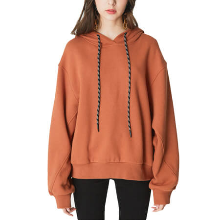 sizes 86-134 Hooded pullover with stripes